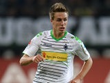 Borussia Moenchengladbach's Patrick Herrmann in action against Eintracht Braunschweig on September 20, 2013