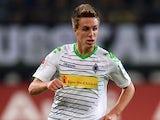 Borussia Moenchengladbach's Patrick Herrmann in action against Eintracht Braunschweig on September 20, 2013