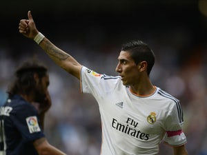 Team News: Di Maria back in for Madrid clash