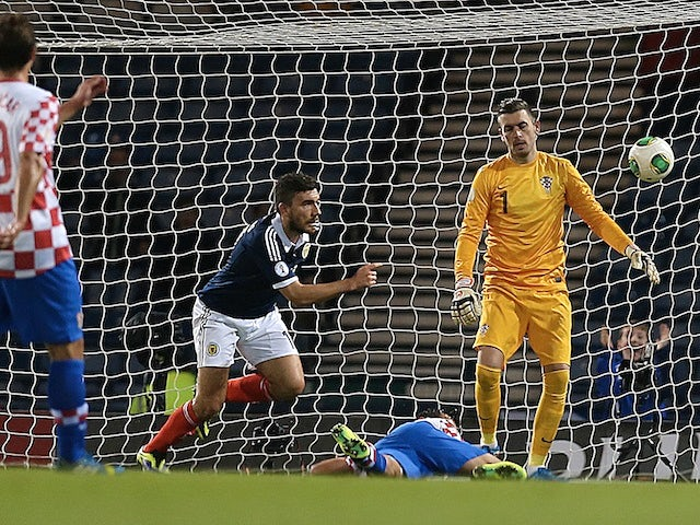 Result: Scotland sweep aside Croatia