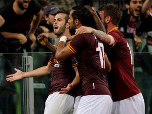 Half-Time Report: Pjanic stunner gives Roma lead