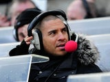 Ex Player and Radio commentator Stan Collymore looks on before the Barclays Premier League match between Newcastle United and Aston Villa on February 5, 2012