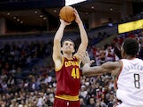 Tyler Zeller #40 of the Cleveland Cavaliers pulls up for a two pointer during the game against the Milwaukee Bucks at Bradley Center on November 3, 2012