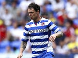 Wayne Bridge of Reading in action during a pre season friendly between Reading and Swansea City at The Madejski Stadium on July 27, 2013