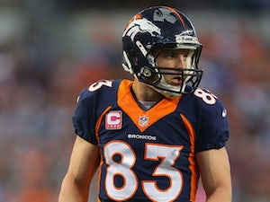Welker ruled out of Chargers match