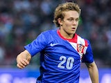 Alen Halilovic of Croatia in action during the international friendly match between Portugal and Croatia on June 10, 2013