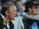 Allan Donald of South Africa in the dug-out during the 2nd One Day International match between South Africa and New Zealand at De Beers Diamond Oval on January 22, 2013