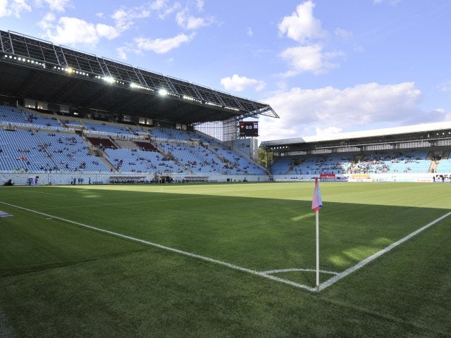 A general view of CSKA Moscow's stadium Arena Khimki on August 06, 2011.