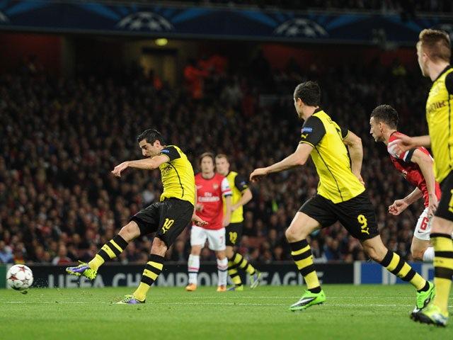 Result: Dortmund edge past Arsenal