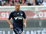 Marseille's French midfielder Benoit Cheyrou controls the ball during a French L1 football match between Valenciennes and Marseille on August 24, 2013