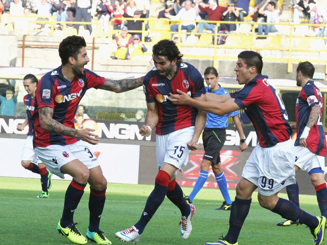 Result: Bologna earn first league win