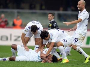 Cuadrado brace sends Fiorentina fifth