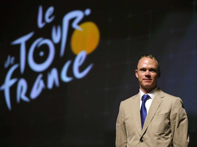 Tour de France winner Chris Froome of Great Britain and SKY Procycling attends the route presentation of 2014 Tour de France at the Palais des Congres de Paris on October 23, 2013