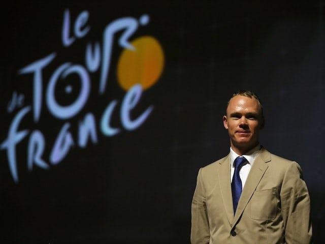 Tour de France winner Chris Froome of Great Britain and SKY Procycling attends the route presentation of 2014 Tour de France at the Palais des Congres de Paris on October 23, 2013