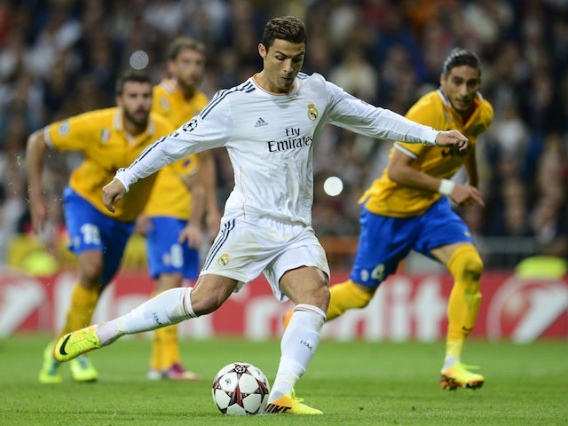 Result: Ronaldo brace secures win for Real