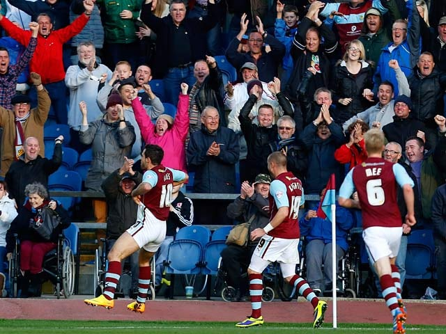 Result: Burnley earn comeback win