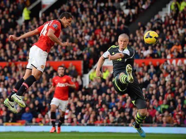 Result: Man Utd overcome Stoke