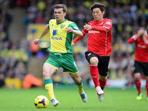 Half-Time Report: Norwich, Cardiff level