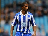 Jose Semedo of Sheffield Wednesday in action during the npower League One match between Sheffield Wednesday and Preston North End at Hillsborough Stadium on March 31, 2012