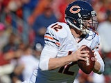 Quarterback Josh McCown of the Chicago Bears looks to pass in the third quarter against the Washington Redskins at FedExField on October 20, 2013