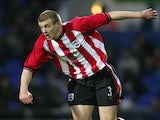 Kyle Critchell of Southampton in action during the FA Youth Cup Final between Ipswich Town and Southampton at Portman Road on April 22, 2005