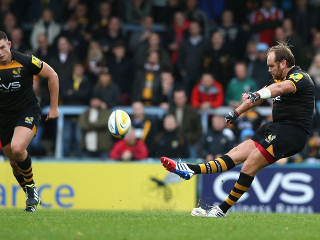 Result: Wasps secure narrow win