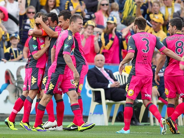Result: Fitzgerald fires Central Coast second