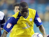 Seyi Olofinjana of Sheffield Wednesday in action during the npower Championship match between Millwall and Sheffield Wednesday on October 26, 2013