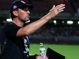 Coach Tony Popovic of Western Sydney Wanderers in action during the WanderTour 2013 Japan  China match between Western Sydney Wanderers v Shimizu S-Pulse on September 4, 2013