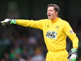 Yeovil's Wayne Hennessey in action against QPR on September 21, 2013
