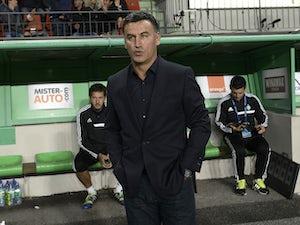 Saint-Etienne boss taken to hospital