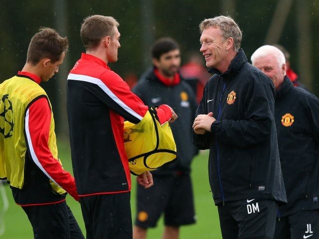 A new era - Fletcher begins training under the guidance of David Moyes in October of this year.