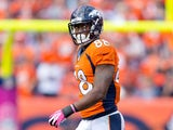 Denver Broncos' Demaryius Thomas in action during the game against Jacksonville Jaguars on October 13, 2013