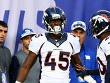 Denver Broncos' Dominique Rodgers-Cromartie in action during the game against New York Giants on September 15, 2013