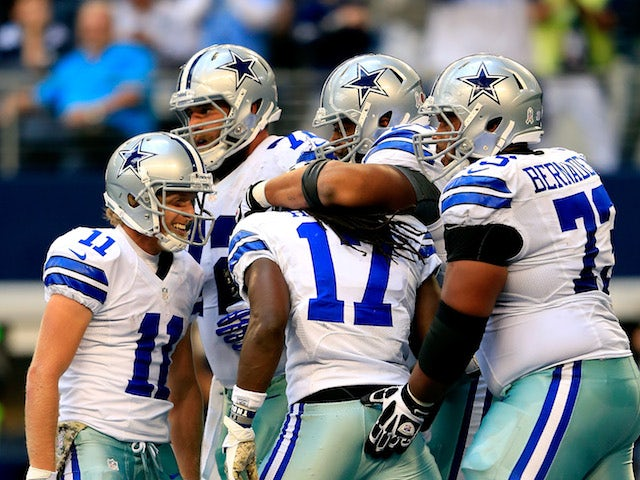 Result: Late touchdown gives Cowboys win