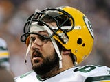 Green Bay Packers' Evan Dietrich-Smith looks on during the game against Minnesota Vikings on October 23, 2011