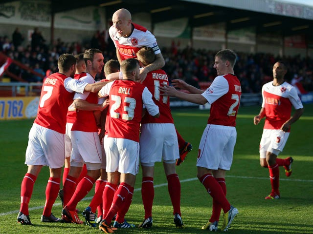Result: Fleetwood shock Carlisle