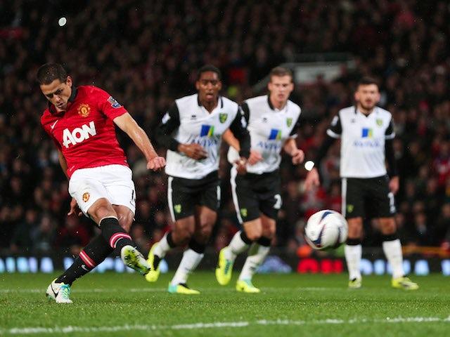 Result: Man Utd ease into quarter-finals