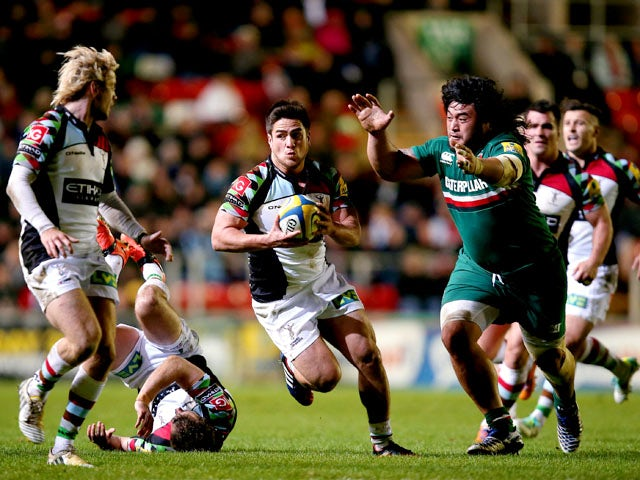 Result: Harlequins see off Leicester Tigers