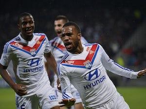 Late Lacazette goal enough for Lyon