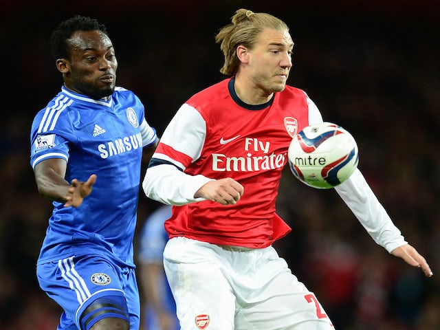Result: Chelsea progress at Arsenal's expense