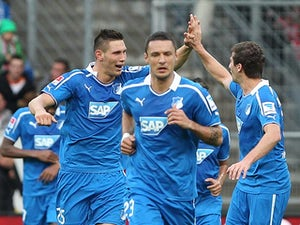 Result: Hoffenheim win at Frankfurt