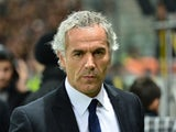 Parma's coach Roberto Donadoni looks on during the Serie A football match Parma vs Juventus at 'Tardini Stadium' in Parma on November 2, 2013