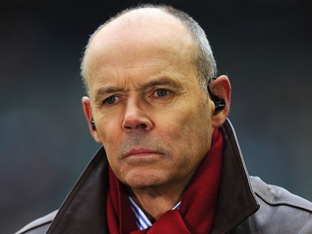Sir Clive Woodward prior to the RBS Six Nations match between England and Italy on March 10, 2013