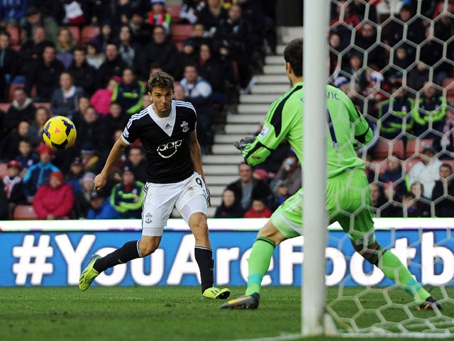 Result: Begovic scores as Stoke draw with Southampton