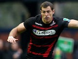 Tim Visser of Edinburgh during the The Heineken Cup Pool 6 Match against Munster on October 12, 2013