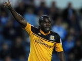 Aaron McLean of Hull City gestures during the npower Championship match between Blackburn Rovers and Hull City at Ewood Park on August 22, 2012
