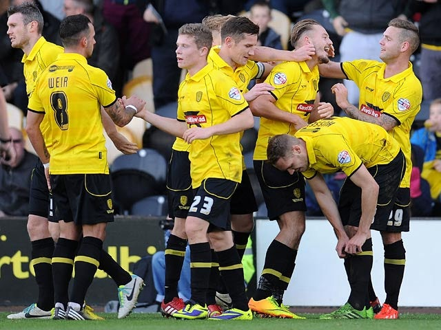 Result: Burton see off Hereford