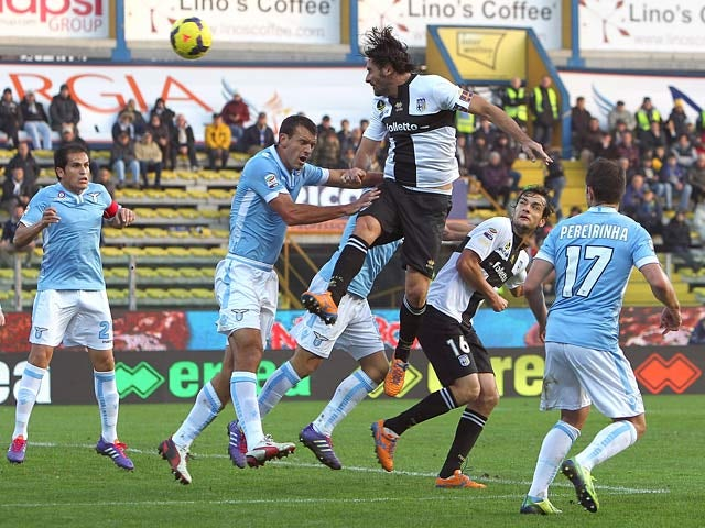 Result: Lazio pegged back by Parma