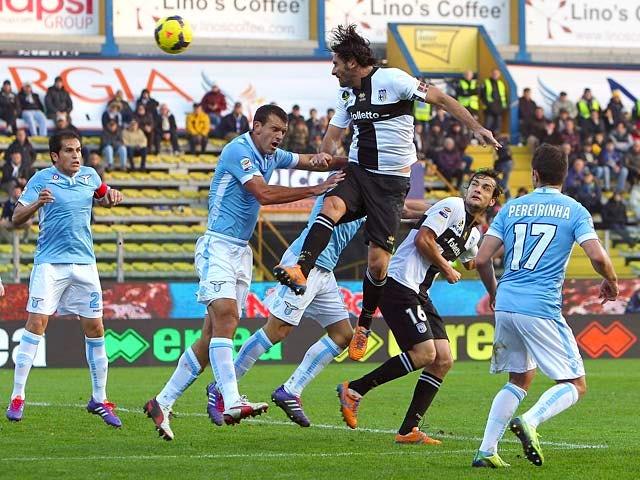 Result: Lazio pegged back by Parma